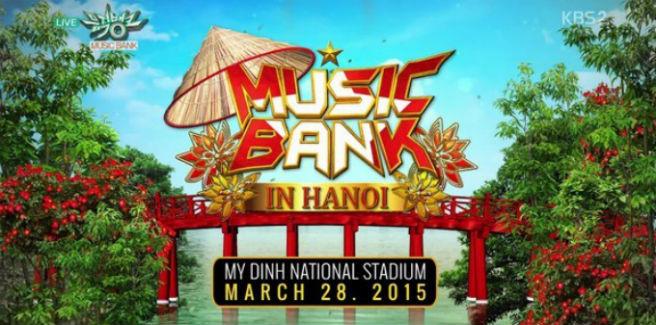 Nuove indiscrezioni sul Music Bank in HANOI
