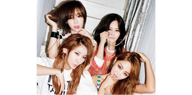 Comeback per le Brown Eyed Girls previsto per ottobre