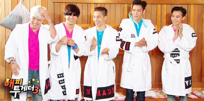 "I BIGBANG rivelano divertenti e scottanti verità a ""Happy Together"""