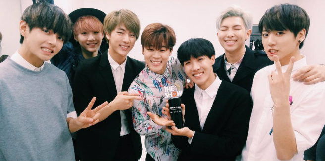 "#BTS1stWin al SBS MTV ""The Show"""