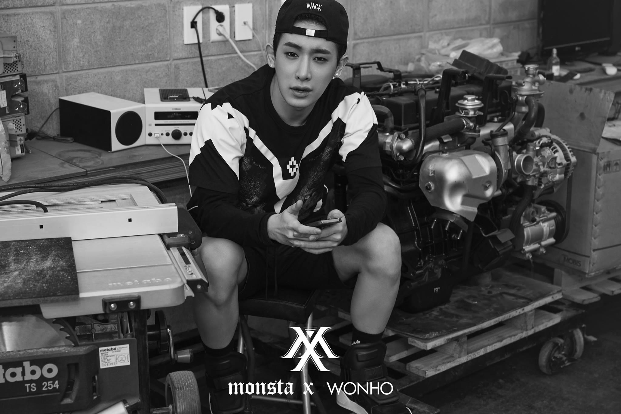 MONSTA-X-Wonho