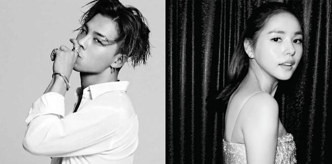 Taeyang dei BIGBANG e l'attrice della JYP Min Hyo Rin sono fidanzati