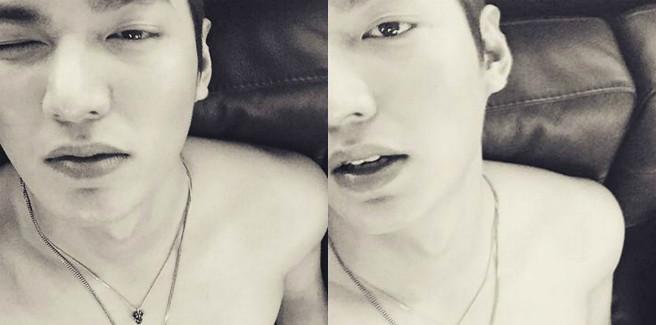 Un selfie dall'attore Lee Minho disgusta i netizens