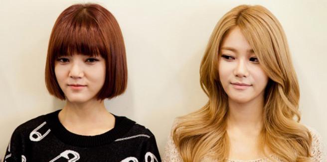 Jimin e Yuna delle AOA confessano i problemi di indossare tacchi alti