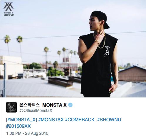 MONSTA X SHOWNU 28 A