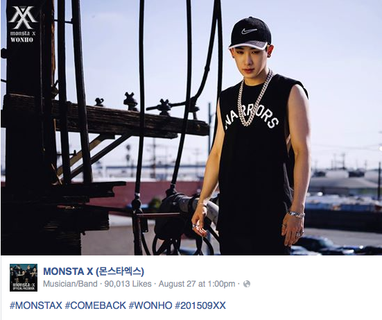 MONSTA X WONHO 27 A
