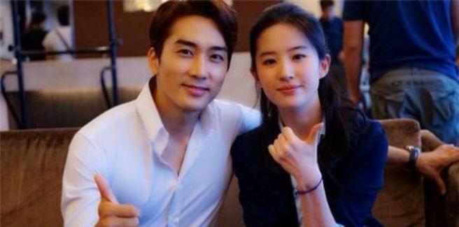 Confermata la relazione fra Song Seung Hun e Liu Yifei