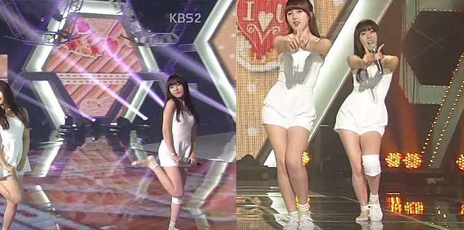 Yuju delle G-FRIEND stupisce per la sua professionalità durante un live di 'Me Gustas Tu'
