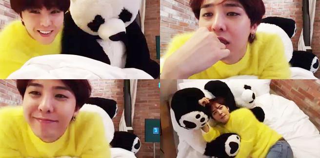 G-Dragon dei BIGBANG dice di non avere una fidanzata durante il live dell'app 'V'