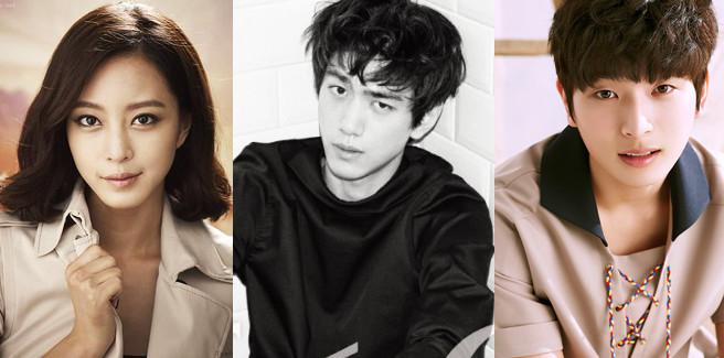 Han Ye Seul, Sung Joon e Jung Jin Woon nel drama 'Madame Antoine'
