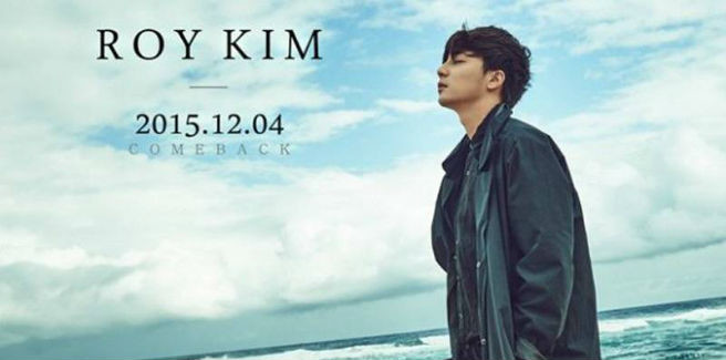 Roy Kim torna con una nuova ballad
