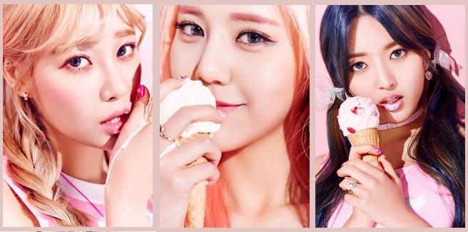 """Arriva la nuova, dolcissima, immagine teaser delle AOA Cream per """"I'm Jelly BABY"""""""