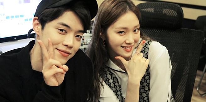 Eddy Kim e Lee Sung Kyung nel video di 'My Lips like Warm Coffee'
