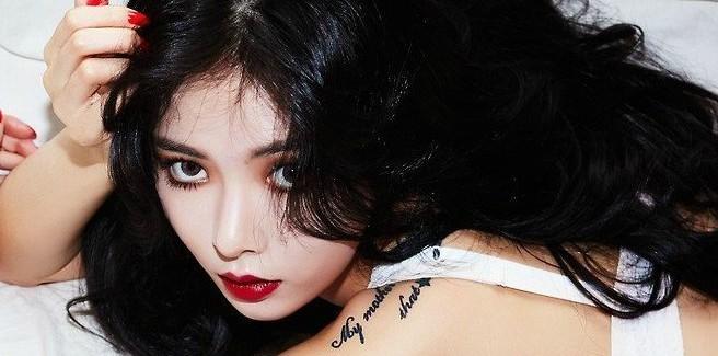 Preview dell'album e altre foto per il comeback di Hyuna