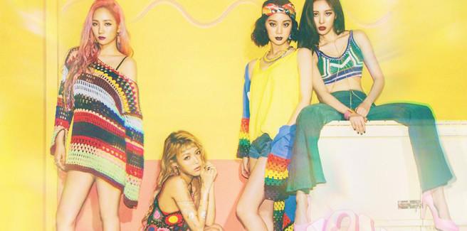 Diario degli allenamenti come band delle Wonder Girls con 'Why So Lonely'