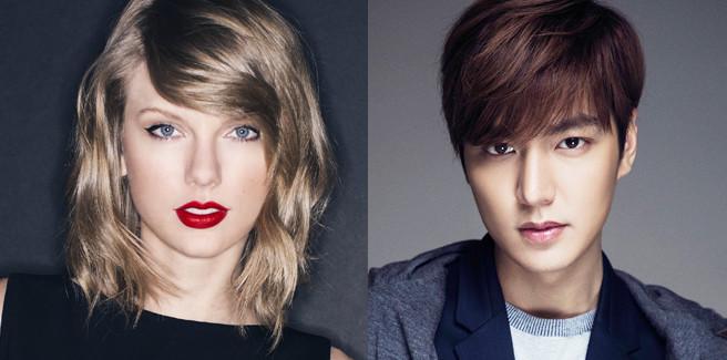 Rumor su Taylor Swift e Lee Min Ho e l'agenzia del coreano risponde