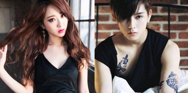 Ren dei NU'EST nel web-drama 'I Am Not A Girl Anymore' con Kyungri delle 9MUSES