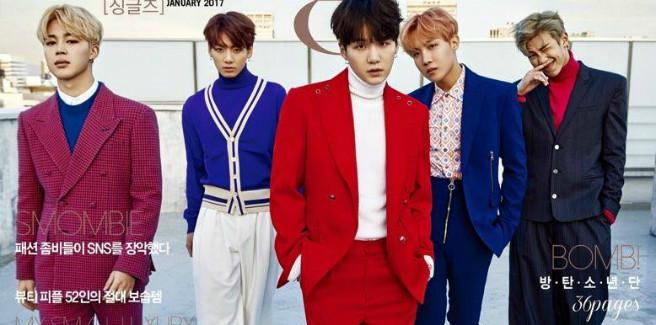 Cinque BTS per la rivista Singles