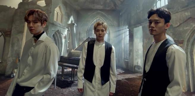 Gli EXO-CBX nel teaser dell'OST per il gioco 'Blade & Soul'