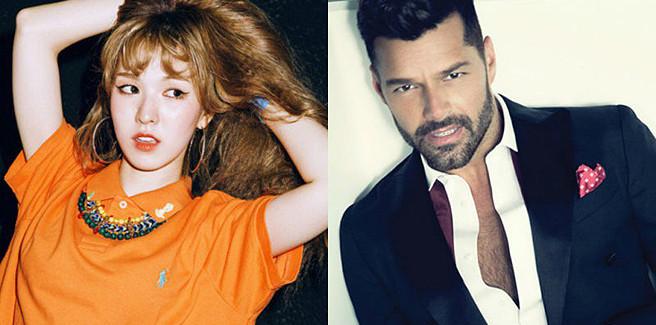 Wendy delle Red Velvet collaborerà con Ricky Martin