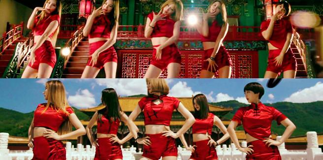 Versione cinese per 'Up & Down' delle EXID con un nuovo MV
