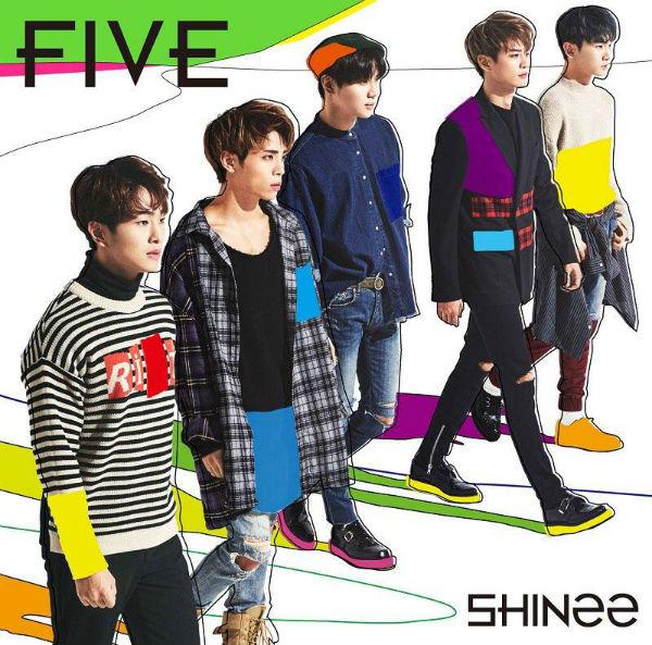 SHINee_five_cover_01