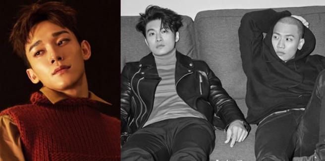 Chen degli EXO con il Dynamic Duo nell'MV di 'Nosedive'