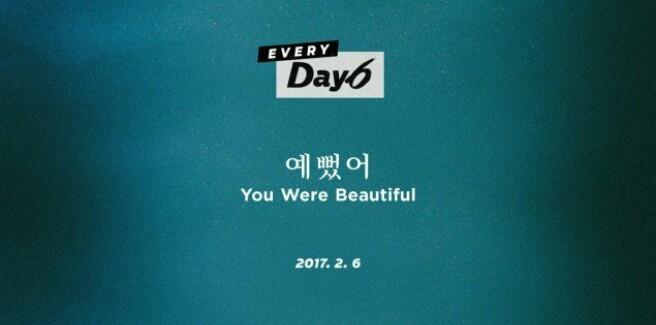 """I DAY6 rilasciano le prime foto teaser per il singolo """"You Were Beautiful"""""""