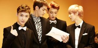 Le statistiche Tencent confermano il successo di Kris, Luhan, Lay e Tao in Cina