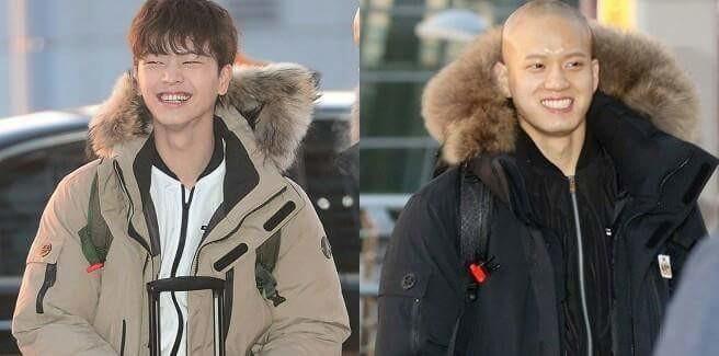 Sungjae e Peniel dei BTOB presi d'assalto dalle fans