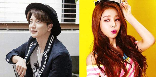 Leeteuk dei Super Junior e Solar delle MAMAMOO presentatori dei Gaon Chart Music Awards 2017