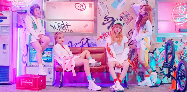 """Nuovi teaser per """"Night Rather Than Day"""" delle EXID"""