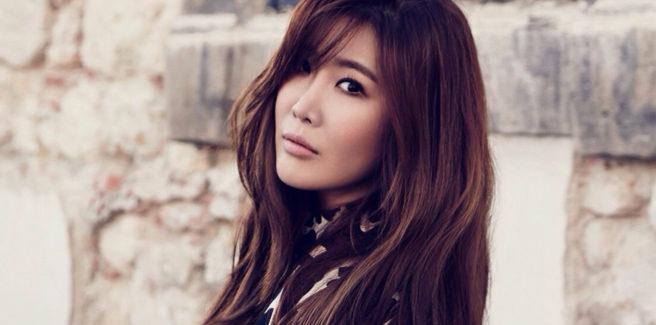 Lee Hae Ri delle Davichi nella pre-release 'Pattern'