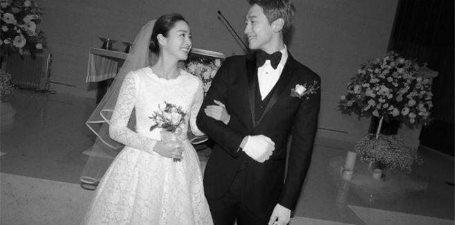 Kim Tae Hee e Rain aspettano un bambino
