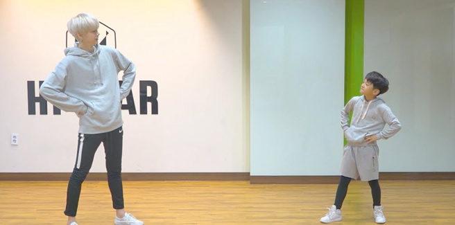 Heecheon degli HALO e il piccolo Minhyung ballano 'Here I Am' e 'Shape of You' di Ed Sheeran