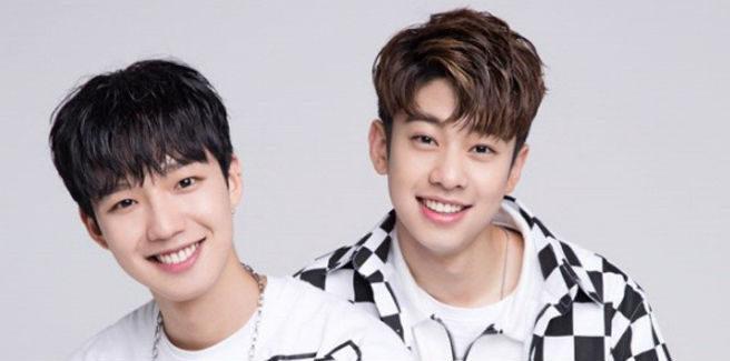 Kim Dong Hyun e Lim Young Min dei BNM annunciano il nome del loro duo