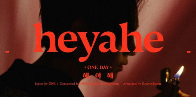 """Rilasciate le prime foto teaser per """"heyahe"""" di One"""