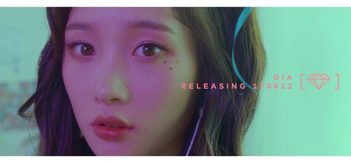 """Le DIA pubblicano il primo MV teaser per il comeback di """"Can't stop"""""""