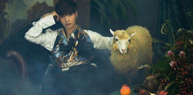 Lay degli EXO diventa un re con pecora per i teaser dell'album