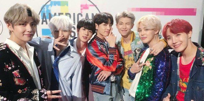 I BTS conquistano gli American Music Awards