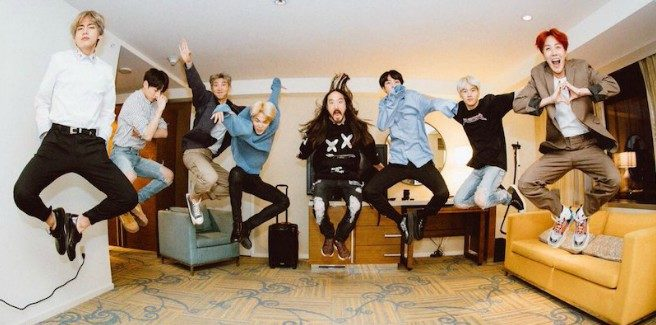 "La Big Hit rilascia l'MV del remix di ""MIC Drop"" dei BTS ft. Steve Aoki"