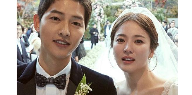 Foto ufficiali dal matrimonio di Song Joong Ki e Song Hye Kyo