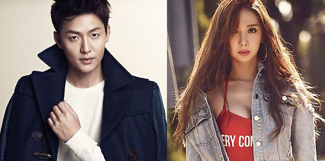 L'attore Lee Jung Jin ed Euaerin (ex Nine Muses) sono fidanzati