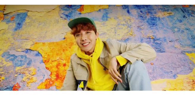 J-Hope dei BTS nel mixtape 'Daydream'
