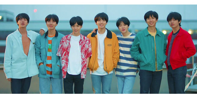 I BTS rilasciano a sorpresa 'Euphoria: Theme of Love Yourself 起 Wonder'