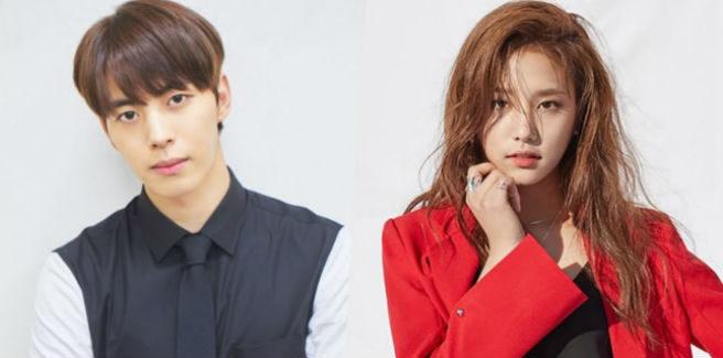 Hongbin dei VIXX e Solbin delle LABOUM  in un nuovo drama