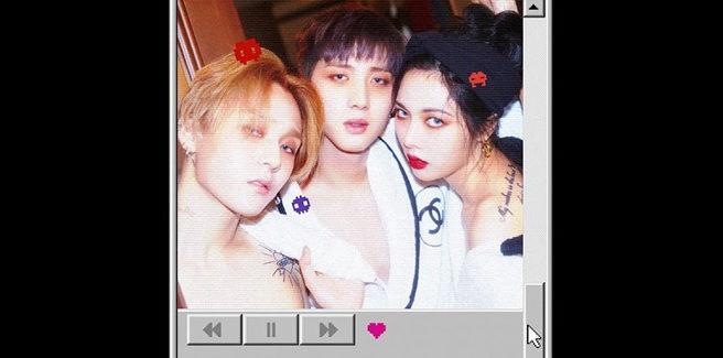 I TRIPLE H (HyunA, Hui ed E'Dawn dei PENTAGON) nella funky 'Retro Future'