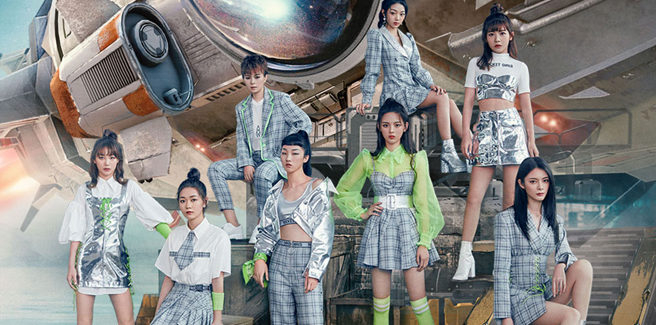 Le Rocket Girls da Produce 101 China tornano con 'Hit'