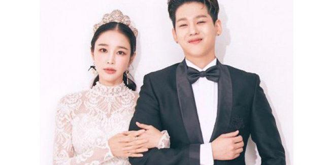 Ron dei BIGFLO (27 anni) e la regista Lee Sa Gang (38 anni) si sposano