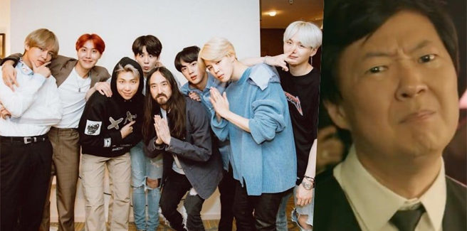 BTS e Steve Aoki in 'Wate It on Me' con un MV pieno di celebrità